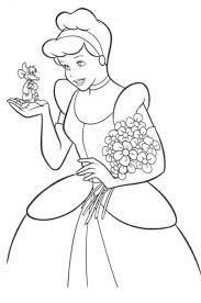 صور سندريلا للتلوين تلوين سندريلا للاطفال الصغار صور سندريلا مرسومه للتلوي Cinderella Coloring Pages Disney Princess Coloring Pages Disney Princess Colors