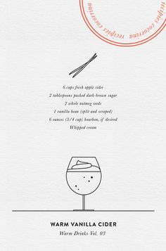 WARM DRINKS Vol. 3 | Vanilla Cider                                                                                                                                                                                 More