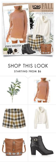 """""""Fall Sweater"""" by sneky ❤ liked on Polyvore featuring Pier 1 Imports, Alice + Olivia, Kurt Geiger and fallsweaters"""