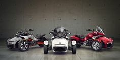Can-Am Spyder:ツーリング、スポーツツーリング、スポーツ用 3 輪バイク | Can-Am Spyder Japan