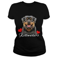 Love ROTTWEILERs Grandpa Grandma Dad Mom Lady Man Men Women Woman Wife Husband Girl Boy Rottwei Rottie Dog Lover