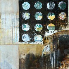 Mixed media art by michaela mara