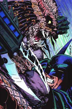 Batman vs Predator - John Byrne