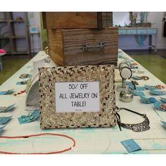Come check out our 50% off jewelry table! Get accessories for this fall!! #LBVB #shoplbvb #accessories #sale #jewelry #fall