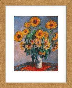 Vase of Sunflowers (Framed)