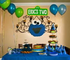 cookie monster birthday - Bing Images