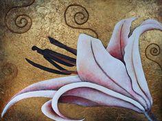Jess Fragoso Abstracte Schilderijen: BLOEMEN