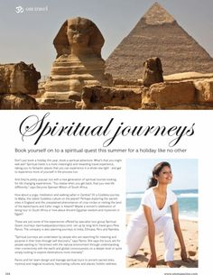 Great article on spiritual travel in OM Magazine http://www.spiritualquestjourneys.com/media/