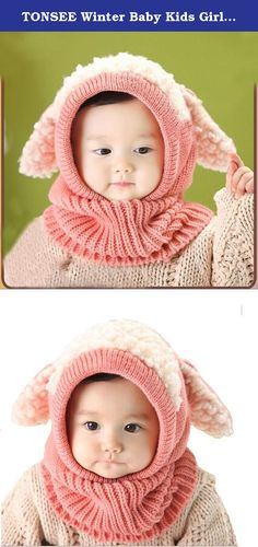 TONSEE Winter Baby Kids Girls Boys Warm Woolen Coif Hood Scarf Caps Hats (Pink). Package include: 1X Winter Baby Kids Girls Boys Warm Woolen Coif Hood Scarf Caps Hats(NO Retail Box. Packed Safely in Bubble Bag).