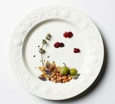 Andrea Bricco creates art from the food on her plate
