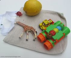 Tell a Story with A Bag {StoryTelling with Preschoolers} - Carrots Are Orange