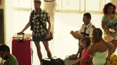 Heraklion airport Flashmob