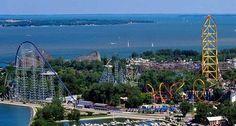 Cedar Point ,Sandusky Ohio-----vacationed