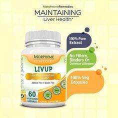 Morpheme Livup Caps For Maintaining Liver Health