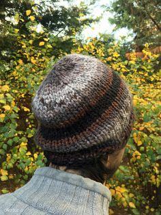 bonnet au tricot simple
