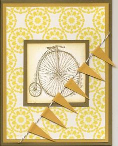 Antique Bicycle by bizzyoma44 - Cards and Paper Crafts at Splitcoaststampers