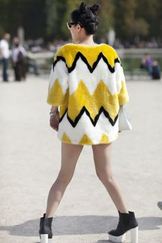 Best Street Style Paris Fashion Week Spring 2014 | Pictures