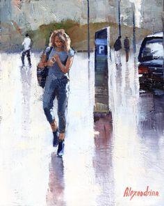 Painter Irina Alexandrina NYC2