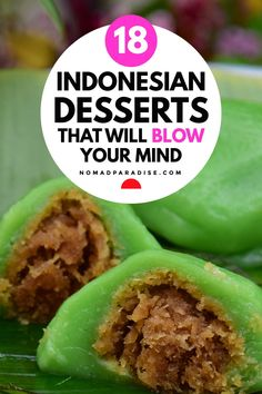 Desserts Around The World, Around The World Food, Indonesian Desserts, Indonesian Food, Filipino Recipes, Mexican Food Recipes, Ethnic Recipes, Cooking Ideas, Cooking Recipes