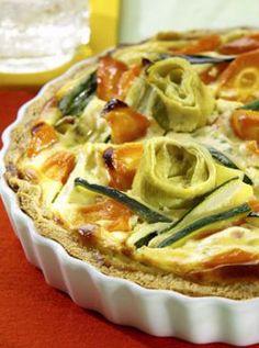 Vegetarische Quiche mit Artischocken: http://kochen.gofeminin.de/rezepte/rezept_artischocken-quiche_327139.aspx
