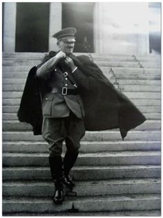 Adolf Hitler - It is said that Hitler preferred to wear a cape in the rain.