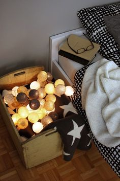 Lichtslinger van Cotton Ball Lights