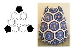 """"""" El Encanto del Crochet """": BUHO FLOR AFRICANA"""
