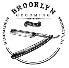 Brooklyn Grooming logo for t-shirts Barber Logo, Barber Shop, Business Logo, Business Card Design, Beard Logo, Research Images, Clothing Tags, Vintage Type, Logo