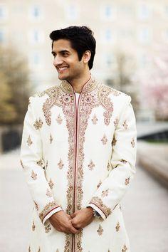 Handsome Indian groom {Nyk + Cali Wedding Photographers}