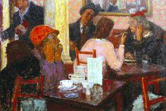 Bas, Edward le (British, 1904-1966) - Cafe Scene - 1939