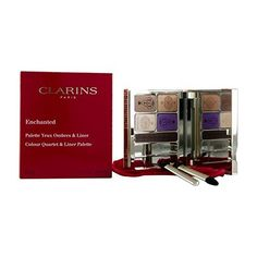 Clarins Eye Color Enchanted Colour Quartet  Liner Palette  017oz -- Learn more by visiting the image link.