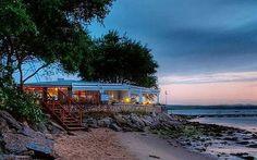 England's best seaside cafés - Telegraph Shell Bay Cafe at Studland Bay Dorset Seaside Cafe, Beach Cafe, Seaside Beach, British Beaches, Uk Beaches, Dorset England, England And Scotland, Isle Of Wight Beach, Cornwall Coast