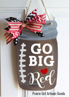 GO Big Red! Is the favorite chant of Nebraska Husker lovers. Show your support…
