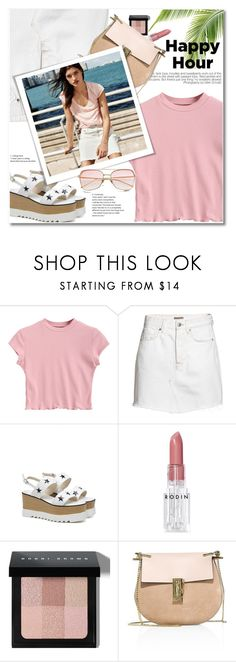 """Bottoms Up: Happy Hour"" by svijetlana ❤ liked on Polyvore featuring Rodin, Bobbi Brown Cosmetics, Chloé, H&M, happyhour and zaful"