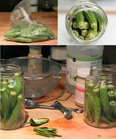 EASY pickled okra (refrigerator pickles)