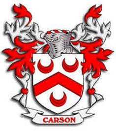 Carson family crest