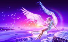 Hình nền thiên thần 3D full HD cực đẹp