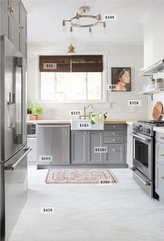 A Budget Breakdown Of The Pittsburgh Kitchen Tile In Floorwhite