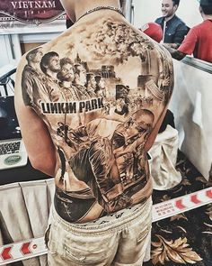 holly, now that's a meager Linkin Park tattoo! ❤lp #tattoo #vietnamtattooconventions #tattoos #linkinpark #ink #in #saigon #vietnam #hcmc