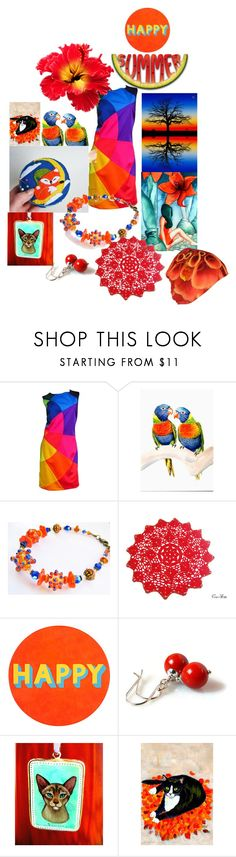 """25 July"" by bizarrejewelry ❤ liked on Polyvore featuring Moschino and Lisa Perry"