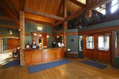 Main Lodge Entrance - Buffalo Mountain Lodge, Banff, AB