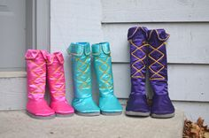 tall dress-up boots tutorial and pattern