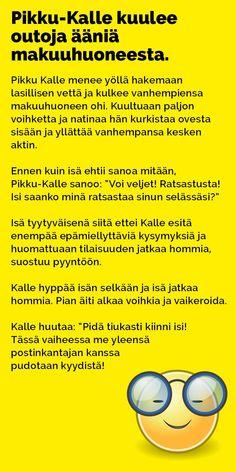 Vitsit: Pikku-Kalle kuulee outoja ääniä makuuhuoneesta - Kohokohta.com Really Funny Memes, Finland, Asia, Jokes, Nice, Chistes, Memes, Funny Jokes, Funny Pranks