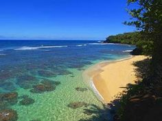 anini beach - great for snorkeling!