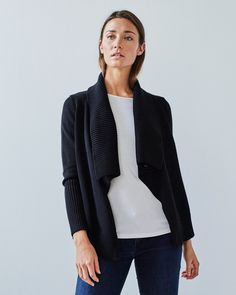 THE CROSSOVER CARDIGAN