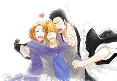 Bleach// Ichigo, Masaki and Isshin
