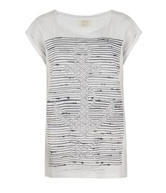 Hook Crew T-shirt, Women, Graphic T-Shirts, AllSaints Spitalfields