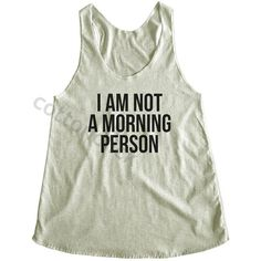 I Am Not a Morning Person Shirt Streetwear Shirt Hipster Shirt Funny... ($14) ❤ liked on Polyvore featuring tops, tanks, white, women's clothing, checkered top, hipster tops, slogan shirts, white checkered shirt и tan top