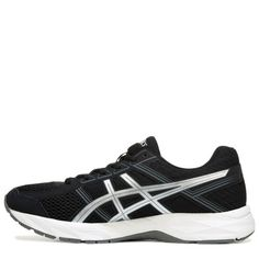 ASICS Men's Gel-Contend 4 X-Wide Running Shoes (Black/Silver/Grey) - 13.0 4E