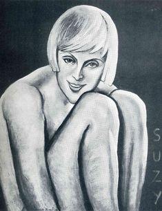 Suzy by @artistpicabia #kitsch #francispicabia